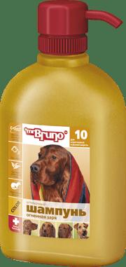 Шампунь-кондиционер для собак рыжих и коричневых окрасов